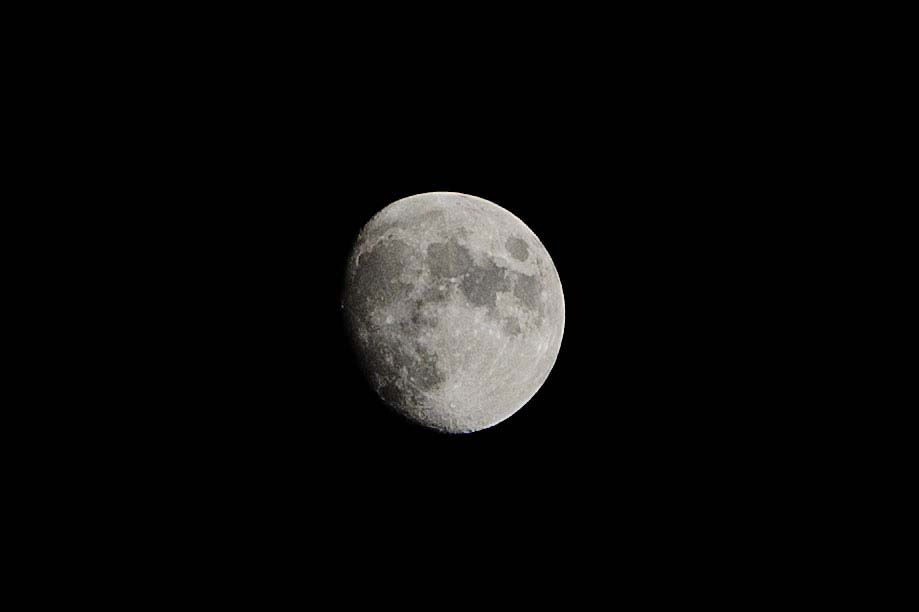 Waxing Gibbous Moon - 03-12-2014