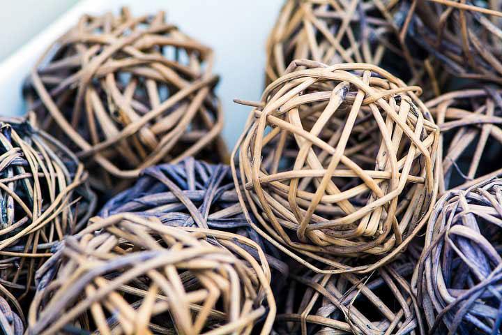 Woven Decorative Balls