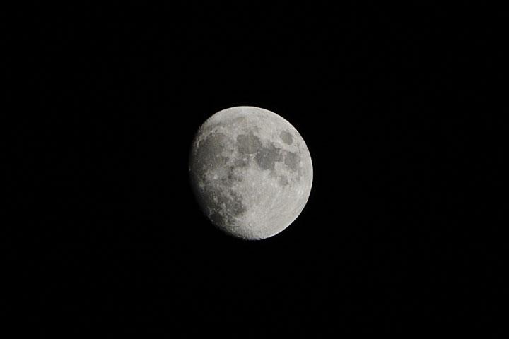 Waxing Gibbous Moon - 03-12-2014