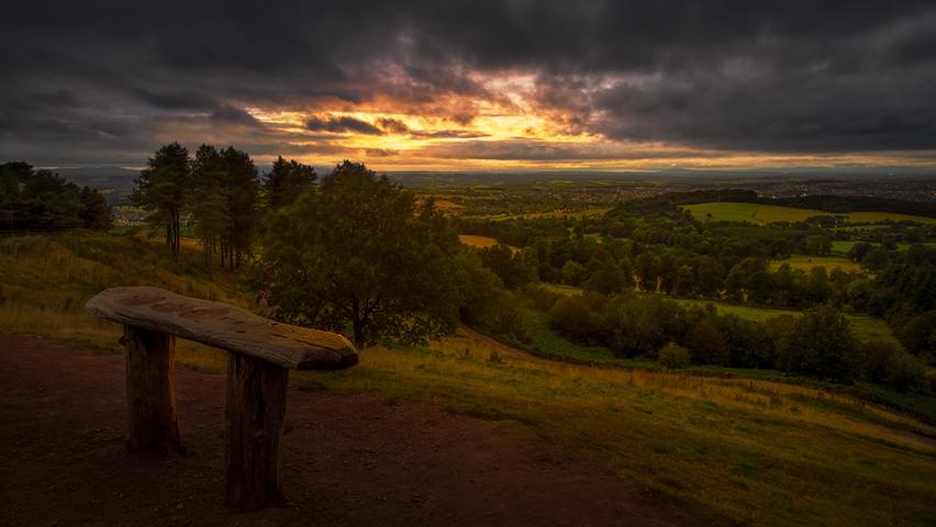 Clent hills Sunset.